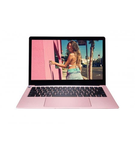 AVITA LIBER NS13A2IN219P 13.3-inch Laptop (8th Gen Core i5-8250U, 8GB RAM, 512GB SSD, Window 10 Home, Integrated Graphics, Finger Print Reader, Backlit Keyboard), Cherry Blossom Pink
