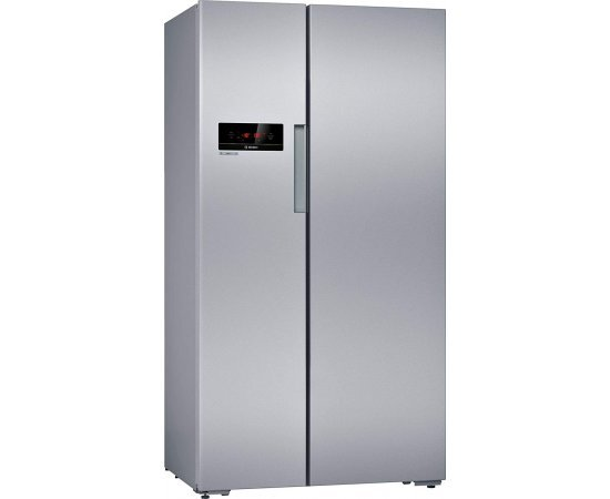 Bosch KAN92VS30I Varioinverter, Eu A++ Energy Efficiency, 658 L Side-by-Side Fridge-Freezer with Silver Door Finishing
