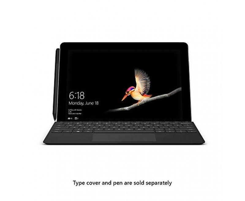 Microsoft Surface Go MHN-00015 10 inch Touchscreen 2-in-1 Laptop (Intel Pentium Gold Processor/4GB/64GB eMMC/Windows 10 Home in S Mode/Intel HD Graphics 615), Platinum
