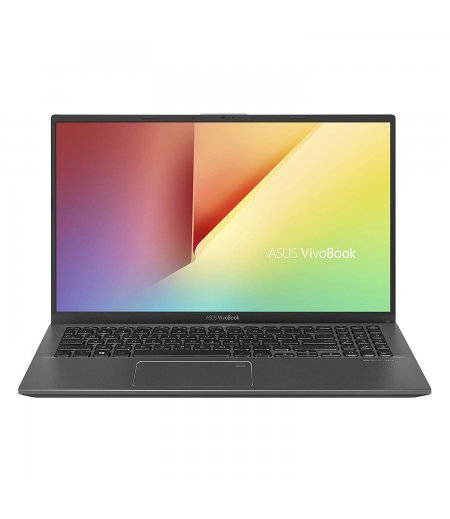 "ASUS VivoBook 15 X512FA Thin and Light Laptop (8th Gen Core i3-8145U, 4GB RAM, 256GB SSD, 15.6"" FHD, Finger Print Reader, Windows 10, Backlit, 1.70 kg) Slate Gray"