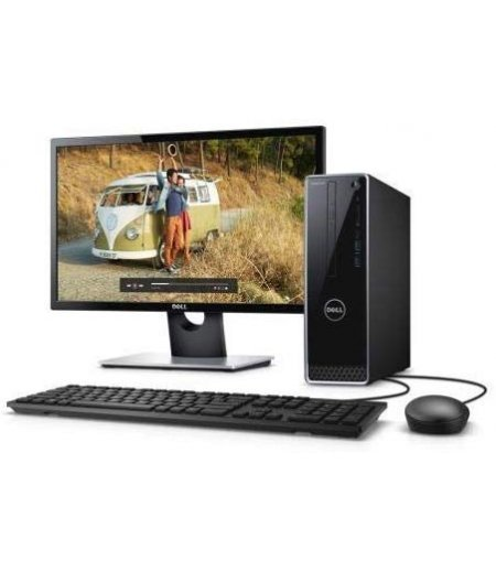 "Dell 3470 SFF Desktop (9th Gen Core i5 9400, 8GB RAM, 1TB HDD, DVD RW, 18.5"" Monitor, Windows 10 SL, Office H&S, Wired Keyboard, Mouse, 3 Years onsite warranty)"