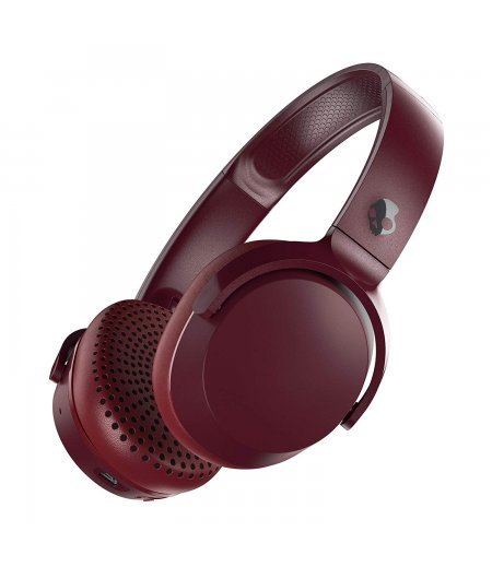 Skullcandy Riff S5PXW-M685 Wireless On-Ear Headphone (Moab/Red/Black)