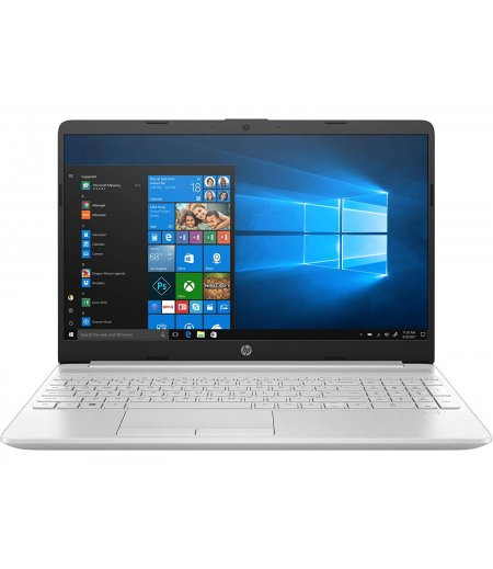 HP 15s-du00096tu 15.6-inch Laptop (8th Gen i5-8265U/8GB/1TB HDD + 256GB SSD/Windows 10 Home/2.04 kg), Natural Silver
