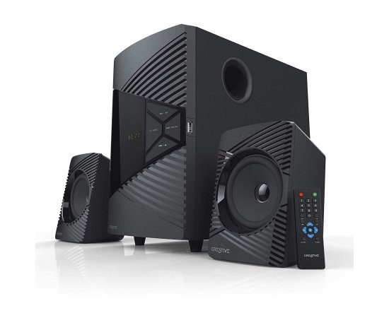 CREATIVE SBS E2500, 2.1 High-Performance Bluetooth Speaker System with Subwoofer for TV, Computers, Laptops