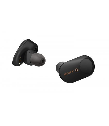 Sony WF-1000XM3 Truly Wireless Bluetooth Earbuds/Earbuds with Battery Life 32 Hours, Alexa Voice Control and mic for Phone Calls – True Wireless Industry Leading Active Noise Cancellation (Black)