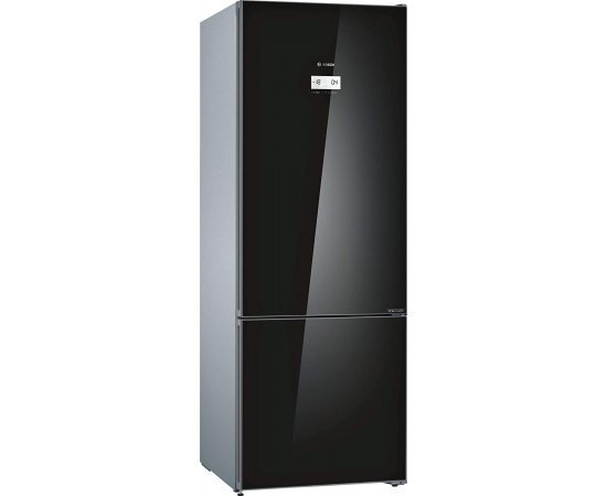 Bosch Series 6 KGN56LB41I 559 L Inverter 3 Star (2019) Frost Free Double Door Refrigerator (Black)