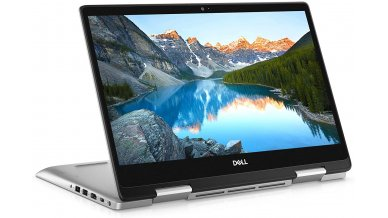 """Dell New Inspiron 5491 2-in-1 14"""" Full HD Touch Screen Laptop (10th Gen Core i7-10510U, 8GB RAM, 512GB SSD, 2GB NVIDIA MX230 Graphics, Windows 10, Office H&S 2019, Backlit Keyboard) Silver"""