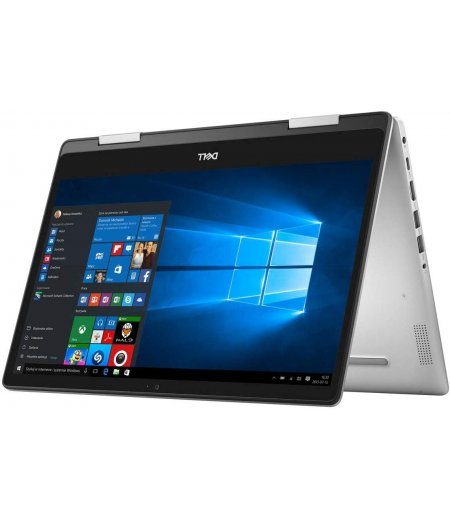 Dell Inspiron 14 5482 2-in-1 14 Inch FHD Touchscreen Convertible Laptop (Core i3-8145U, 4 GB RAM, 1TB HDD, Windows 10, MS Office, 1.7 kg) Silver