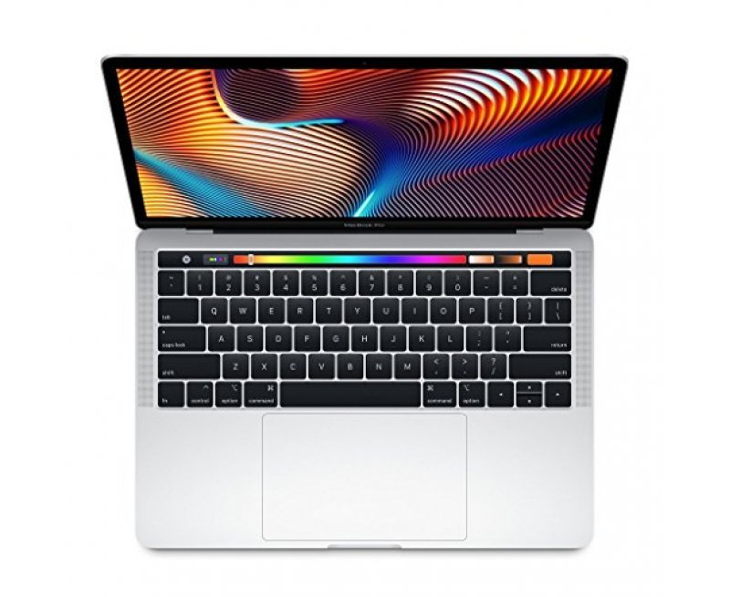 Apple MacBook Pro (13-inch, Touch Bar, 1.4GHz Quad-core Intel Core i5, 8GB RAM, 256GB) - Silver (Latest Model)