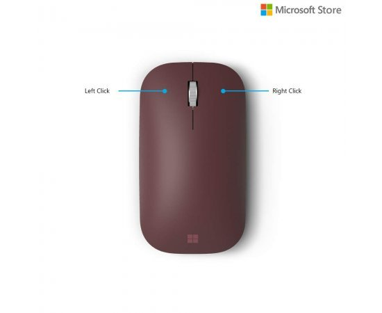 Microsoft Surface Mobile Mouse - Burgundy