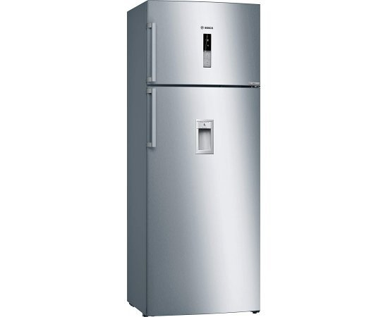 Bosch 507 L 2 Star Inverter Frost-Free Double Door Refrigerator (KDD56XI30I, Stainless Steel)