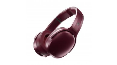 Skullcandy Crusher Active Noise Cancellation Wireless Over-Ear Headphone (Moab/Red/Black)