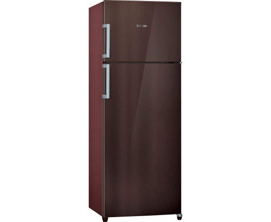 Bosch 347 L 4 Star (2019) Inverter Frost-Free Double Door Refrigerator (KDN43VD40I, Plum Metallic)