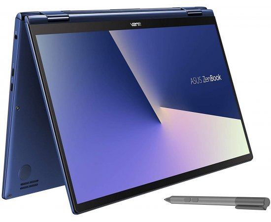 ASUS ZenBook Flip 13 UX362FA Intel Core i7 8th Gen 13.3-inch FHD Touchscreen 2-in-1 Thin & Light Laptop (8GB RAM, 512GB SSD, Windows 10, Integrated Graphics, 1.30 Kg) Royal Blue