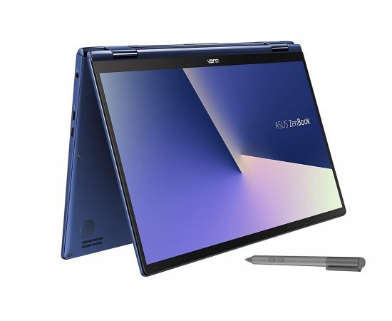 ASUS ZenBook Flip 13 UX362FA Intel Core i5 8th Gen 13.3-inch FHD Touchscreen 2-in-1 Thin & Light Laptop (8GB RAM, 512GB SSD, Windows 10, Integrated Graphics, 1.30 Kg) Royal Blue