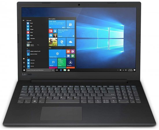 "Lenovo V145 Thin and Light Laptop (AMD A6, 4GB RAM, 1TB HDD, 15.6"" HD, DVD Writer, DOS, 2.1 kg) Black"