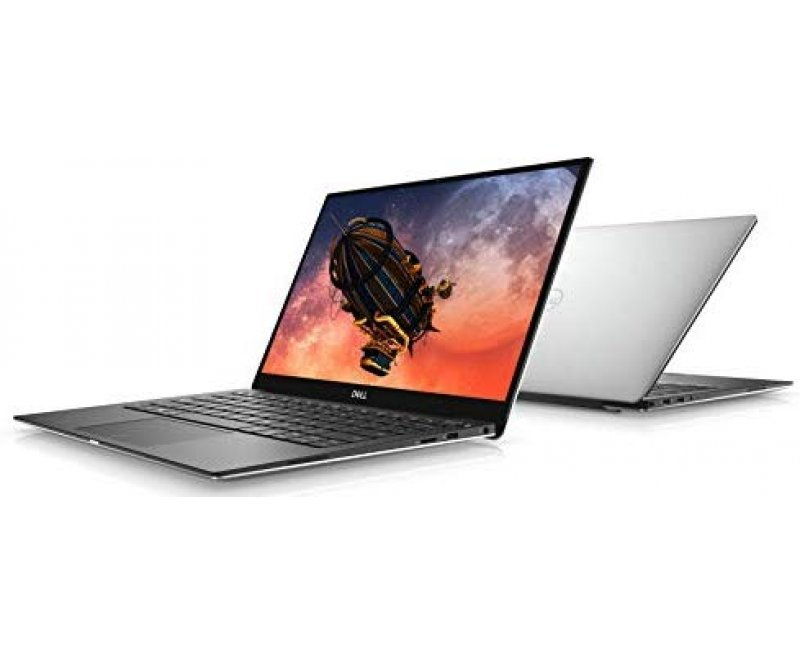 Dell XPS 13 7390 13.3-inch 4K UHD InfinityEdge Touch Laptop (10th Gen Core i7-10510U, 16GB RAM, 512GB SSD, Windows 10, Office H&S 2019, Backlit Keyboard, Finger Reader, ADP) Silver