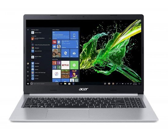 Acer Aspire 5 Slim A515-54G 15.6 inch Full HD Thin and Light Laptop (8th Gen Core i5 8265U, 8GB RAM, 1TB HDD, 2GB NVidia MX250 Graphics, Windows 10, Office H&S 2019, Pure Silver, 1.8kg) Silver