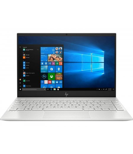 "HP Envy 13-aq1020TX 2019 Laptop (10th Gen Core i7-10510U, 16GB RAM, 512GB SSD, 32GB Optane, 2GB Nvidia MX250, 13.3"" Micro-edge Full HD Touch, Windows 10, Office H&S 2019, Alexa built-in)"