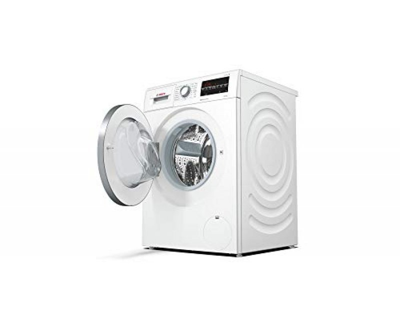 Bosch 10 kg Inverter Fully-Automatic Front Loading Washing Machine WAU28460IN, White, Inbuilt Heater)