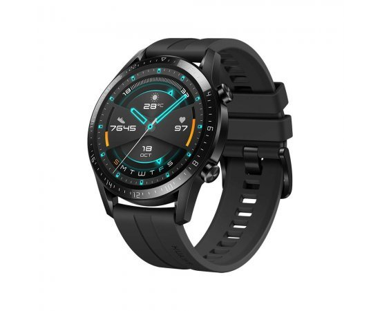 Huawei Watch GT 2(46mm), 2 Weeks Battery Life, Bluetooth Calling, Sport Edition (Black)