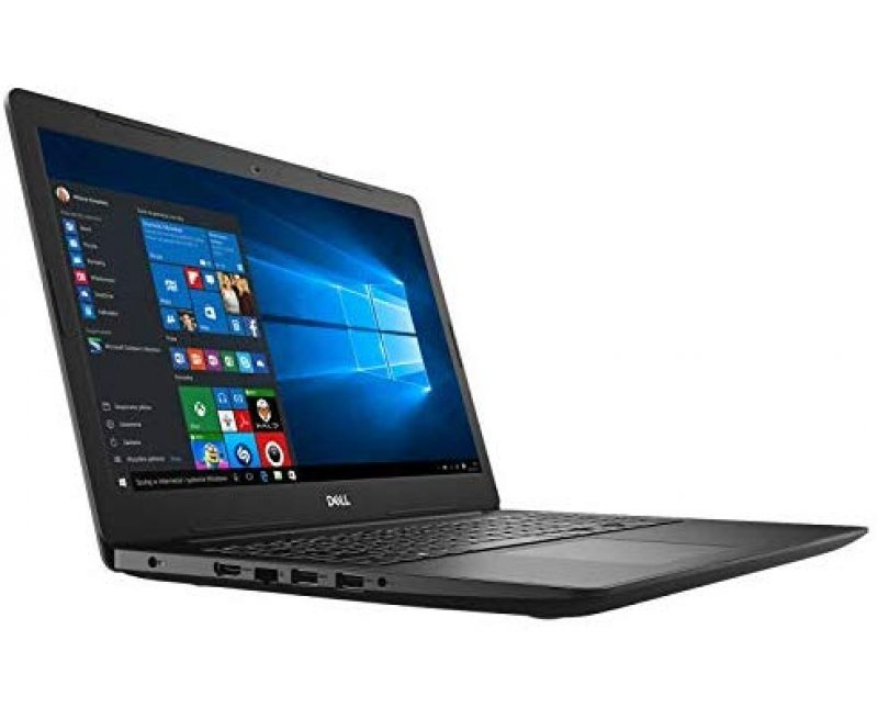 "Dell 3581 Slim Laptop (7th Gen Core i3 7020U, 4GB RAM, 1TB HDD, 15.6"""" Full HD, DVD RW, Windows 10, MS Office) Black"