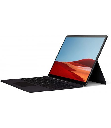 "Microsoft Surface Pro X – 13"" Touch-Screen – SQ1 - 8GB Memory - 128GB Solid State Drive – Wifi + 4G Lte – Matte Black"