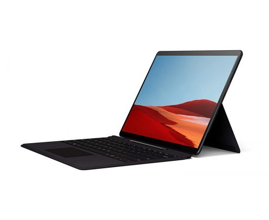 "Microsoft Surface Pro X – 13"" Touch-Screen – Microsoft SQ1 - 8GB Memory - 256GB Solid State Drive – WiFi + 4G LTE – Matte Black"