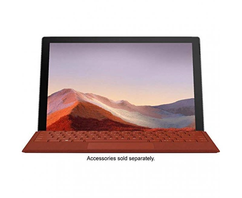 """NEW Microsoft Surface Pro 7 – 12.3"""" Touch-Screen - 10th Gen Intel Core i7 - 16GB Memory - 256GB Solid State Drive (Latest Model) – Matte Black"""