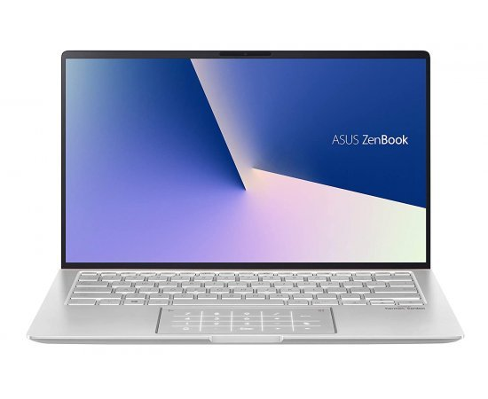 ASUS ZenBook 14 UX433FA 14-inch FHD Thin & Light Laptop (10th Gen Core i5-10210U, 8GB RAM, 512GB SSD, Windows 10, Office H&S 2019, Integrated Graphics,1.26 Kg) Icicle Silver