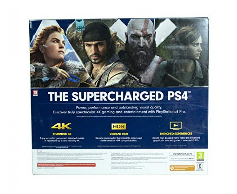 Sony PS4 1TB Slim console (Free Games : Detroit /The Last of Us/God of War/Fortnight Voucher /PSN 3 Month Inside the Box