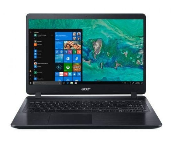 Acer Aspire 5 A515-53K Laptop (7th Gen Core i3 7020U, 4GB RAM, 1TB HDD, DVDRW,  15.6-inch FHD, Windows 10, Integrated Graphics) Black | Silver