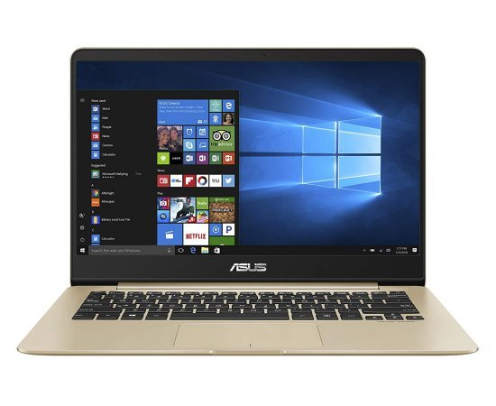 ASUS ZenBook UX430UA-GV573T Intel Core i5 8th Gen 14-inch FHD Thin and Light Laptop (8GB RAM, 256GB SSD, Windows 10, Integrated Graphics, 1.30 kg) Gold