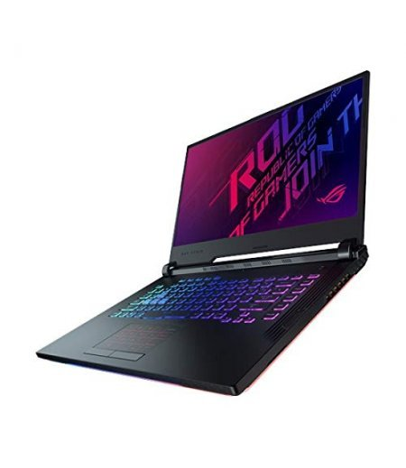 Asus ROG Strix G G531GT Gaming Laptop (9th Gen Core i5-9300H, 8GB RAM, 512GB SSD, 4GB GTX 1650 Graphics, 15.6' FHD 60Hz Display, Illuminated Chiclet Keyboard RGB, Windows 10, Light Bar) Black