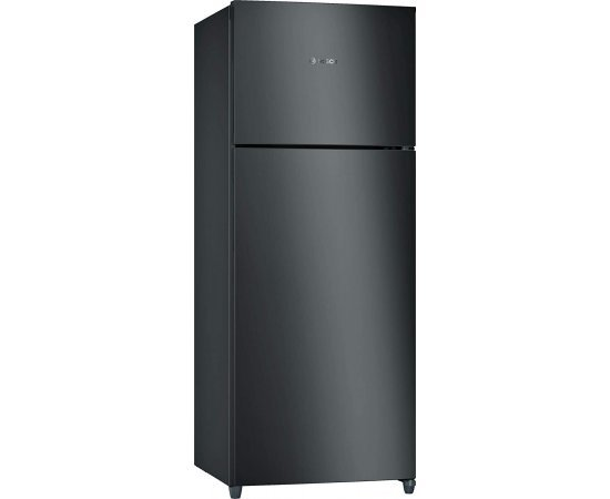 Bosch 327 L 3 Star (2019) Frost-Free Double Door Refrigerator (KDN42VB30I, Metallic black)