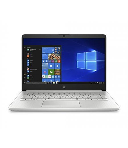 """HP Notebook 14s Thin and Light Laptop with USB-C (10th Gen Core i3-1005G1, 8GB RAM, 1TB HDD + 256GB SSD, 14"""" Full HD, Windows 10, Office H&S 2019, 1.51 kg) Natural Silver"""