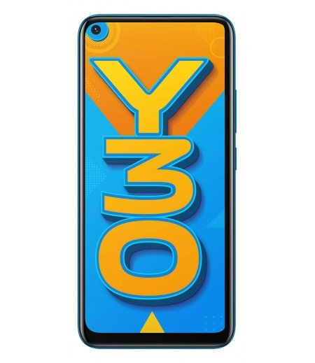 Vivo Y30 (Dazzle Blue, 4GB RAM, 128GB Storage)