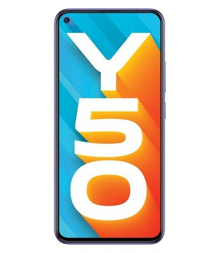 Vivo Y50 (Iris Blue, 8GB RAM, 128GB Storage)