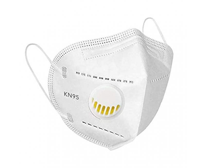 MediSec KN95 / FFP2 Face Mask with Respirator (Pack of 20)