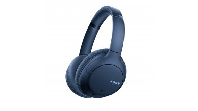 Sony WH-CH710N Noise Cancelling Wireless Headphones : Bluetooth Over The Ear Headset with Mic for Phone-Call, 35 Hours Battery Life, Quick Charge and Google Assitant - Blue