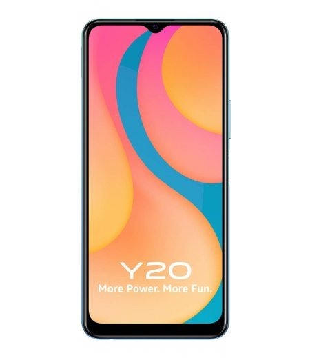 Vivo Y20 (Purist Blue, 6GB RAM, 64GB Storage)