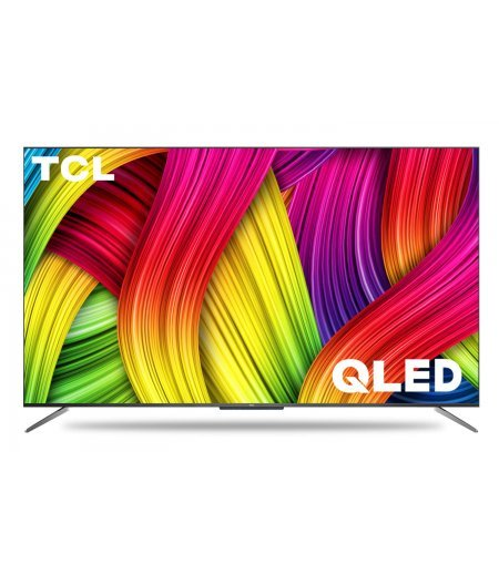 TCL 125.7 cm (50 inches) 4K Ultra HD Certified Android Smart QLED TV (Metallic Black) (2020 Model) | with Voice Control