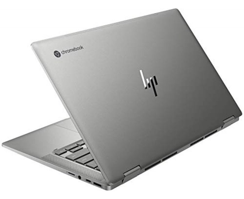 HP Chromebook x360 14c-ca0009TU 14-inch Laptop (10th Gen i5-10110U, 8GB RAM, 128GB SSD, Chrome OS, Integrated Graphics) Mineral Silver