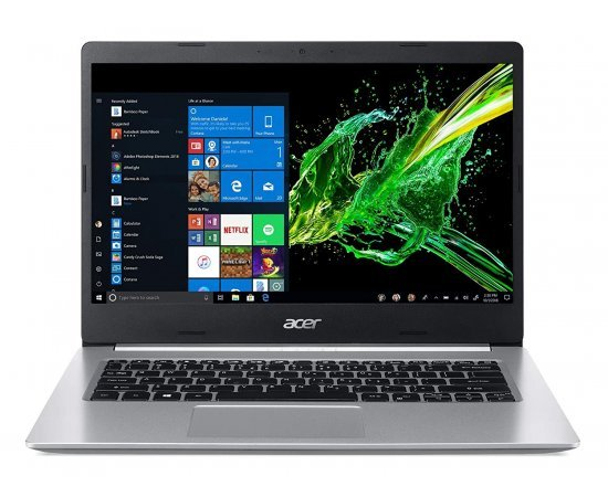 "Acer Aspire 5 A514-53 Thin and Light Laptop (10th Gen Core i3-1005G1, 8GB RAM, 1TB HDD, Window 10, 14"" HD Display, 1.6 kg) Pure Silver"