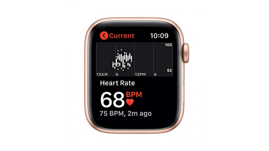 Apple Watch SE GPS + Cellular, 44mm Space Gray Aluminium Case with Charcoal Sport Loop iWatch SE