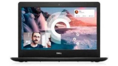 Dell Vostro 14 3491 Laptop (10th Gen Core i3-1005G1, 8GB RAM, 1TB HDD, Windows 10, Office H&S 2019, Integrated Graphics, 14 inch Display) Black