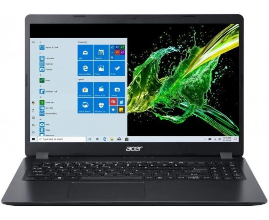 "Acer Aspire 3 A315-56 Thin and Light Laptop (10th Gen Core i3-1005G1, 8GB RAM, 1TB HDD, 15.6"" Full HD Display, Window 10, Office H&S 2019, 1.9 kgs) Shale Black"