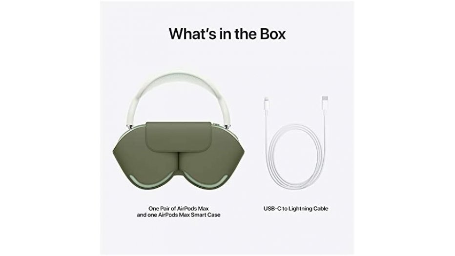 Apple AirPods Max - Green Over Ear + Wireless