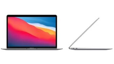 Apple MacBook Air (Latest Model) with Apple M1 Chip (13-inch, 16GB RAM, 256GB SSD Storage) Space Gray