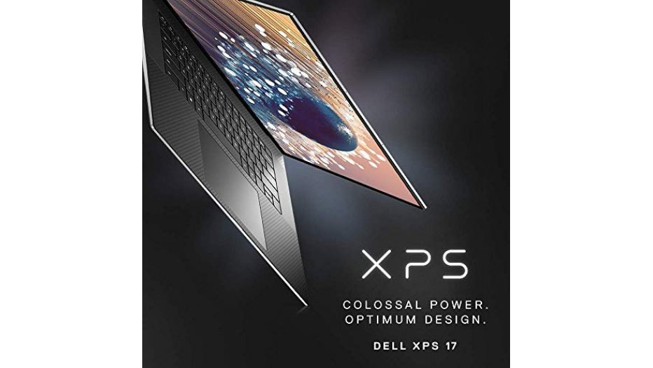 """Dell XPS 9700 17.0"""" UHD+ Touch Laptop (I7-10750H, 16 GB RAM, 1TB SSD, 4GB Nvidia GTX Graphics, Windows 10, Office H&S 2019) Silver XPS Laptop"""